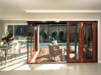 Airlite Timber Bi fold Door