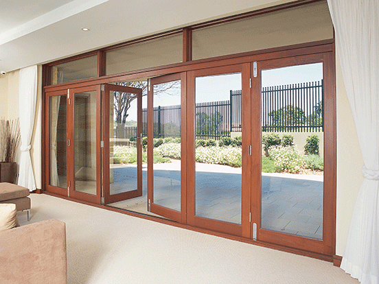 Timber Bi Fold Doors Airlite Doors