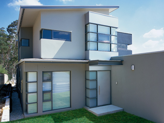 Architectural aluminium windows