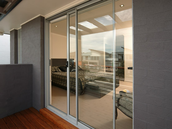Aluminium sliding doors airlite doors sydney for Aluminum sliding screen door