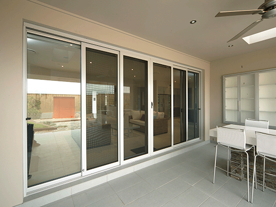 aluminium stacking doors airlite doors sydney. Black Bedroom Furniture Sets. Home Design Ideas