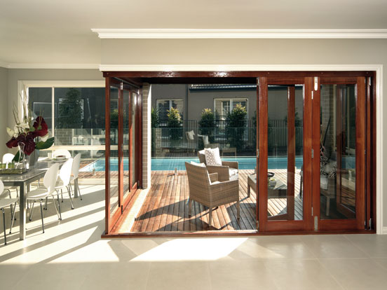 Airlite Timber Bifold Door