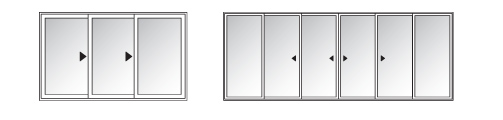 Stacking Doors Configuration