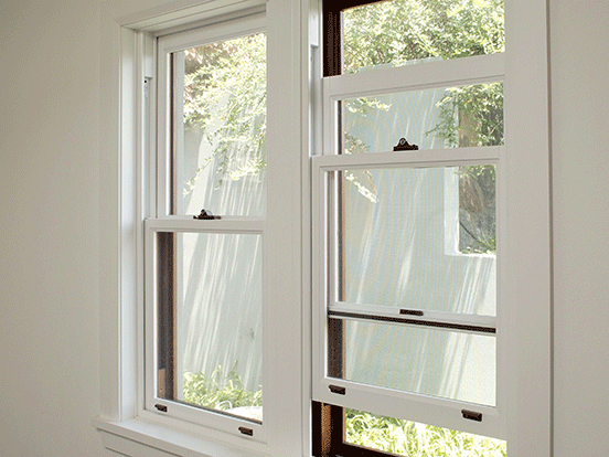 Timber double hung windows airlite sydney for Double hung window